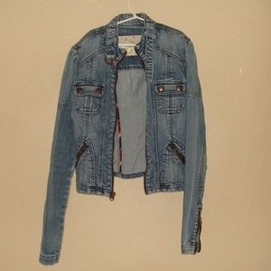 Kid's Abercrombie & Fitch Denim Jacket Size XS
